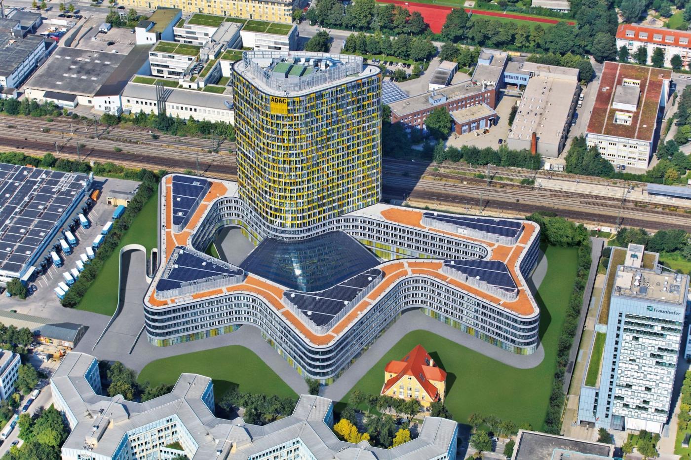 Офисный комплекс ADAC в Мюнхене