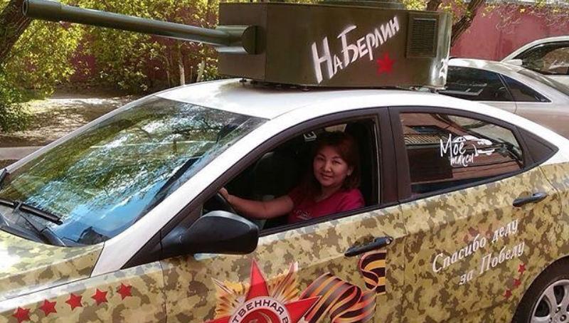 Новости: В Караганде таксисты пересели на танки