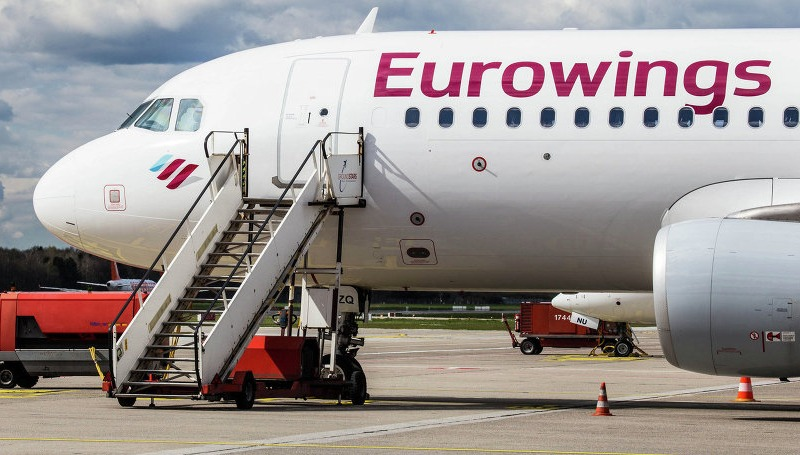Новости: Самолет приземлился с опозданием на двое суток
