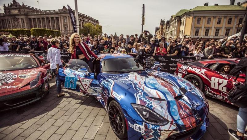 Досуг: Gumball Rally через Германию