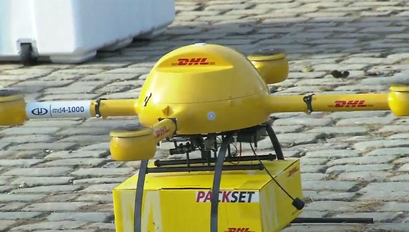 Новости: DHL запустила беспилотник