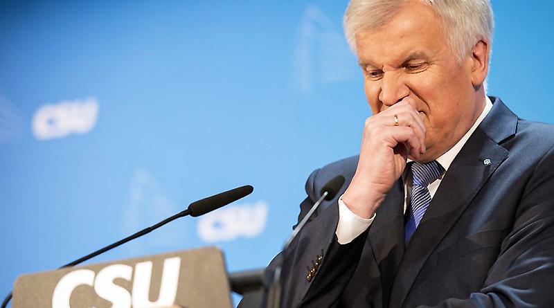 Новости: Разногласия в ХСС — Зеехофер выдвигает собственную программу