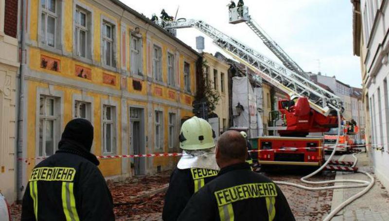 Новости: В старинном городе горел исторический центр