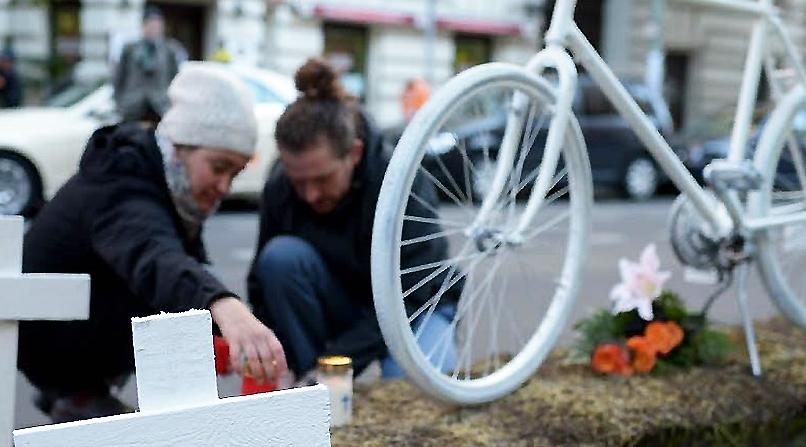 Новости: Берлин: число погибших велосипедистов растет