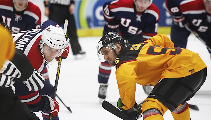 Новости: Хоккей. Германия и Россия сыграют завтра