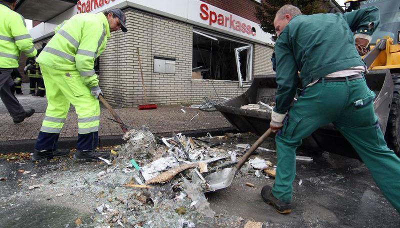 Новости: В Зигене судят подрывателя банкоматов