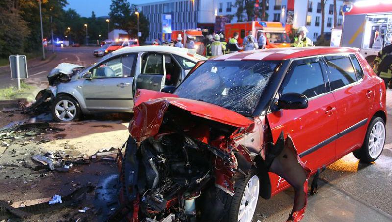 Новости: Гонки на трассе: пять человек в больнице