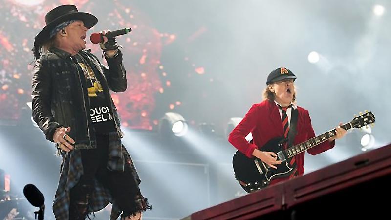 Культура: Аксель Роуз и AC/DC — в Германии