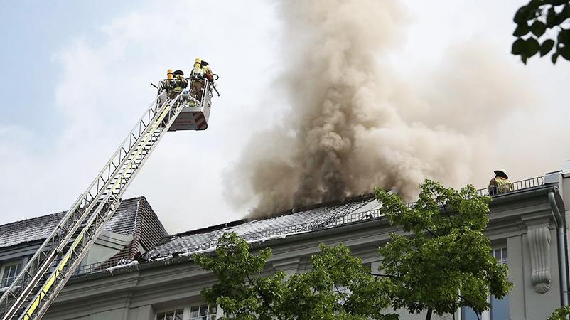 Новости: В Берлине горит «Богота»