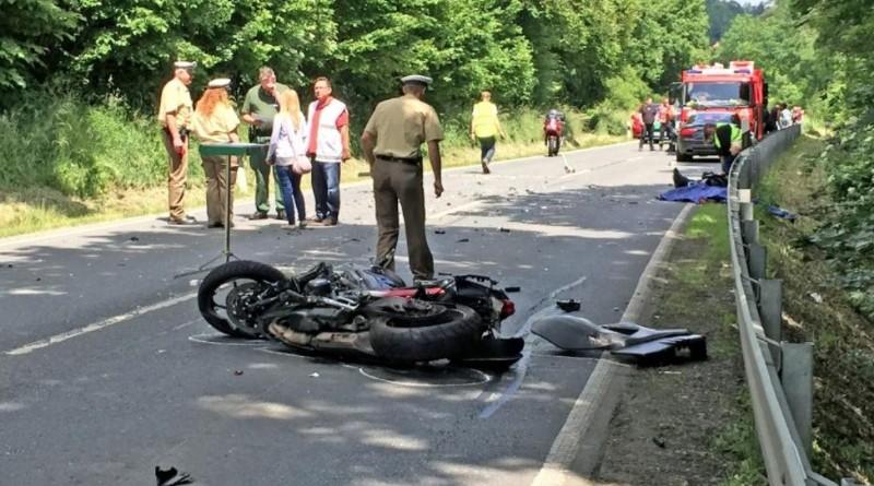 Новости: Мадам борделя разбилась на мотоцикле
