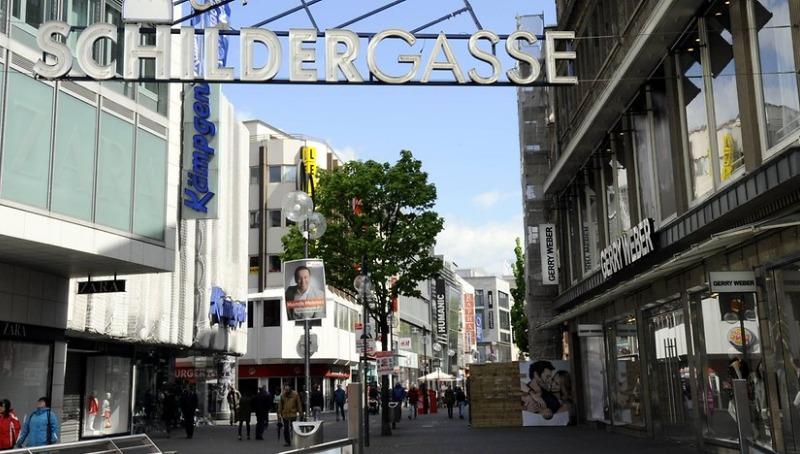 Деньги: Самая посещаемая торговая улица Германии находится в Кельне