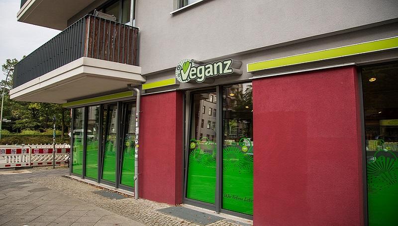 супермаркет Veganz