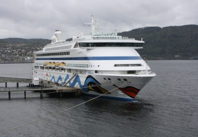 Из-за шторма в Северном море пострадало три пассажира круизного лайнера «Aida»