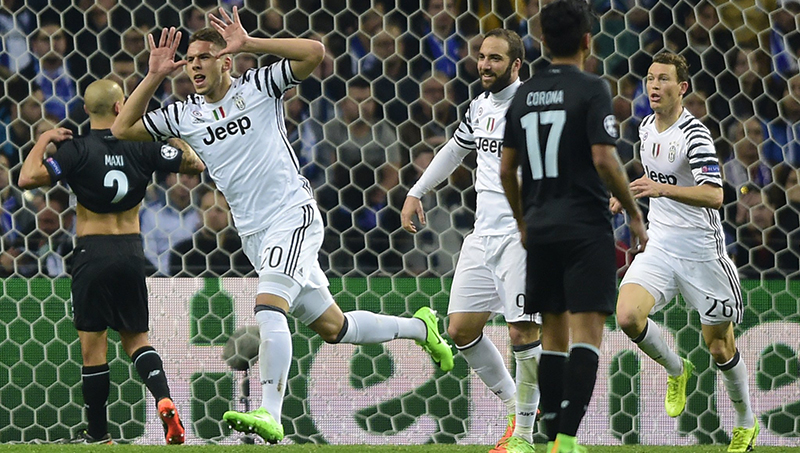 Спорт: Лига чемпионов. «Ювентус» – 140 секунд для победы