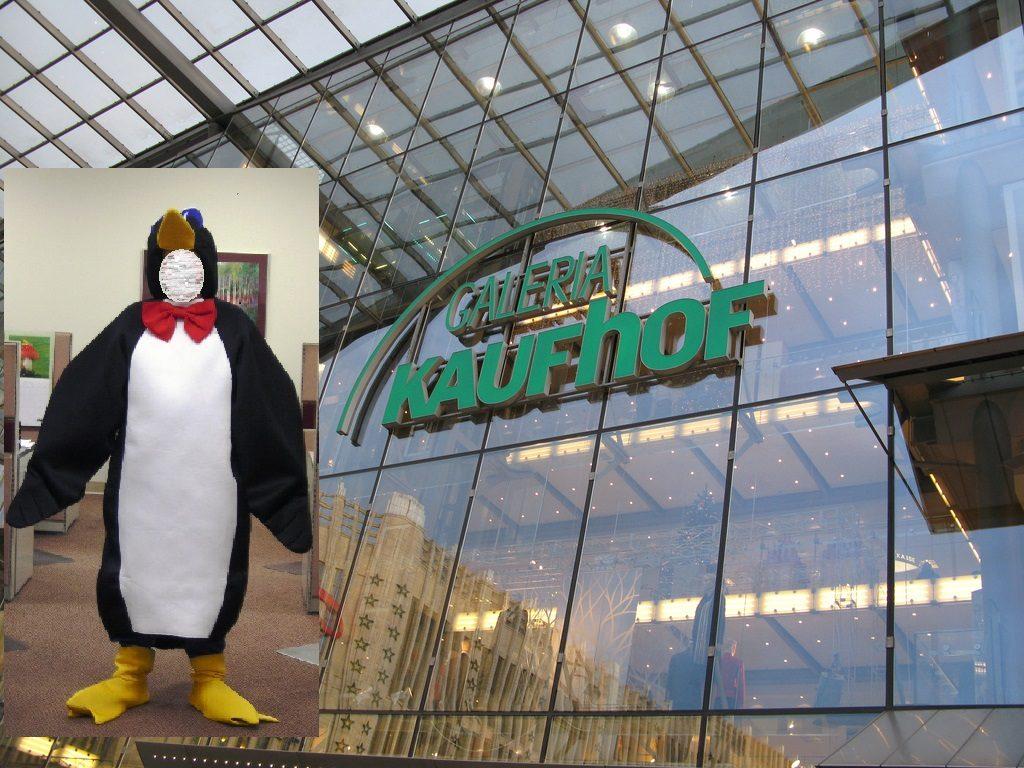Закон и право: В Мюнхене задержали мужчину в костюме пингвина, обворовавшего торговый центр
