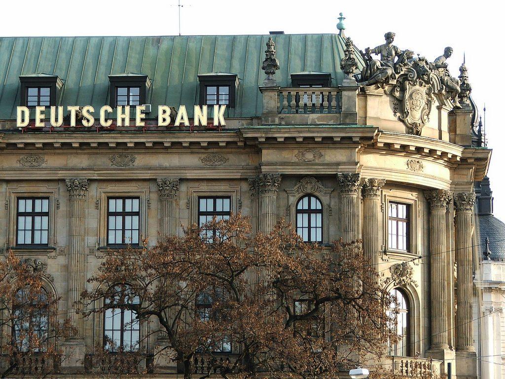 Деньги: Убытки Deutsche Bank в 2016 году составили €1,4 млрд