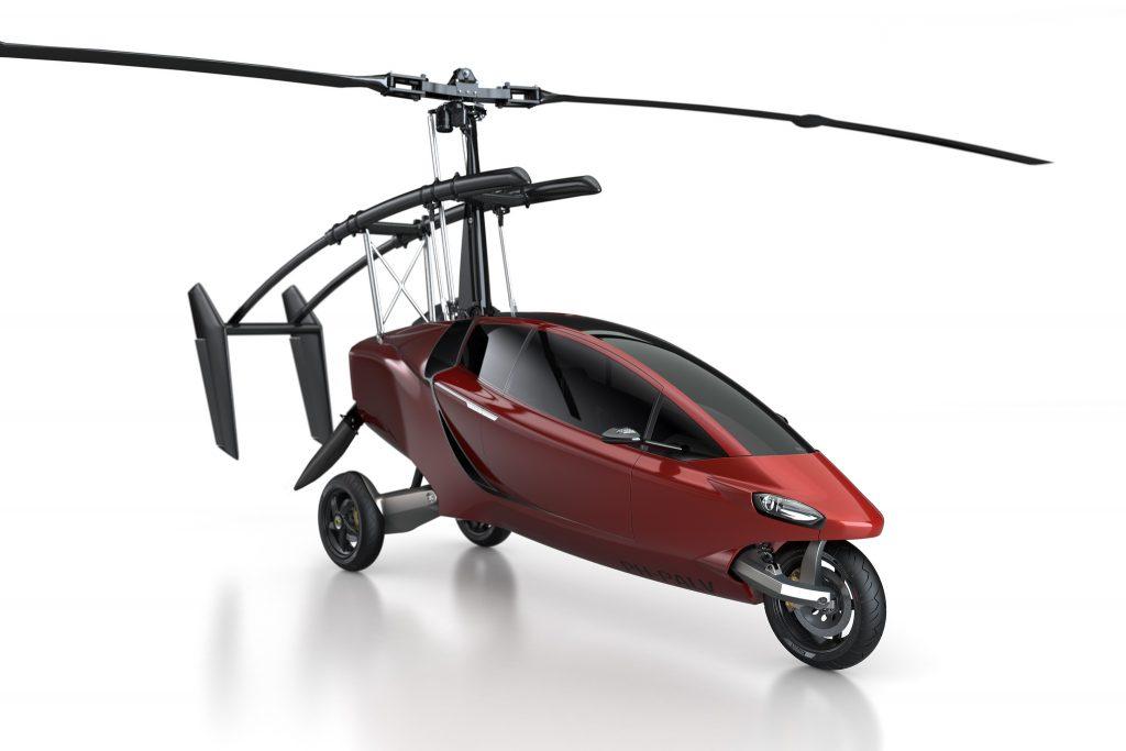 """Технологии: Первые """"летающие"""" авто поступят в продажу уже в 2018 году"""
