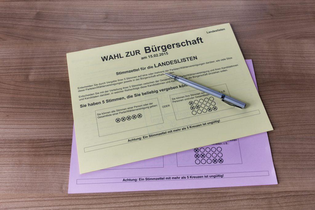Закон и право: В Германии запретят фотографировать избирательные бюллетени