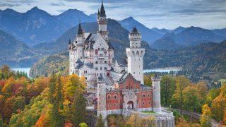 Замки Германии: замок Нойшванштайн