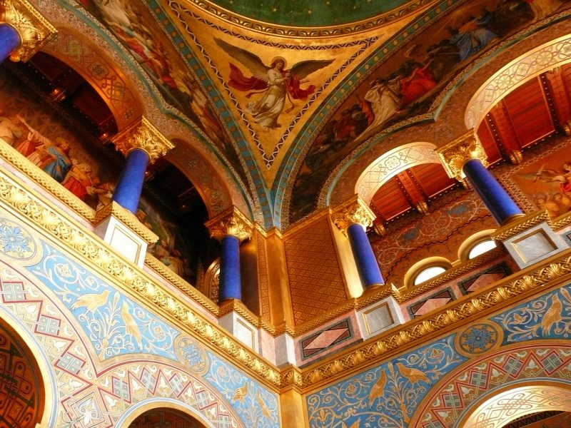 Галерея: Замки Германии: замок Нойшванштайн рис 2
