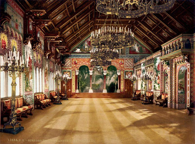 Галерея: Замки Германии: замок Нойшванштайн