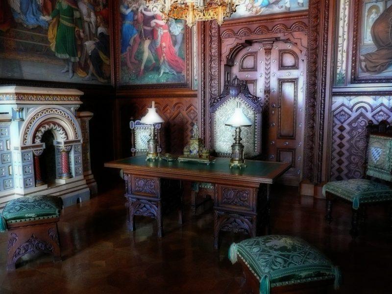Галерея: Замки Германии: замок Нойшванштайн рис 3