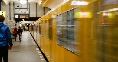В Мюнхене женщина толкнула незнакомца под поезд метро