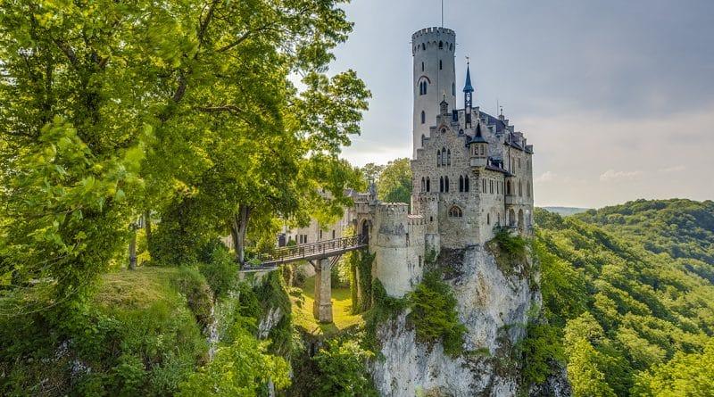 Галерея: Замки Германии: сказочный Лихтенштайн
