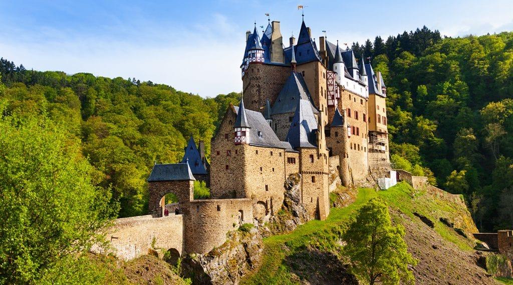 Галерея: Замки Германии: замок Эльц