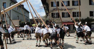 В ночь с 30 апреля на 1 мая в Баварии отмечают ночь ведьм