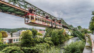 Самые необычные достопримечательности Германии: Вуппертальская подвесная дорога