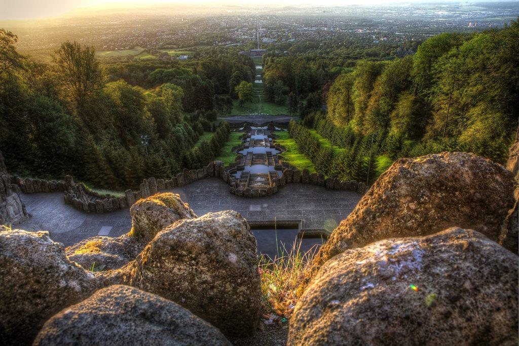 Галерея: Интересные места Германии: горный парк Вильгельмсхеэ рис 4
