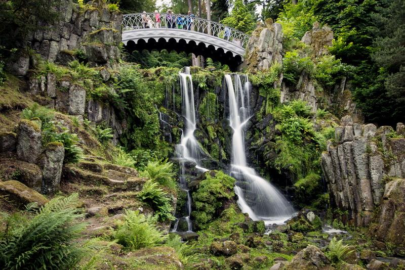 Галерея: Интересные места Германии: горный парк Вильгельмсхеэ рис 2