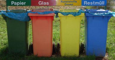 Для чего предназначены желтые пакеты и контейнеры для мусора