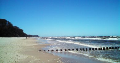 Отдыхающим: какие опасности таит берег Балтики?