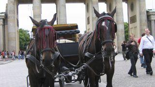 От Бранденбургских ворот хотят убрать кареты