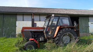 Разбушевавшийся трактор покалечил гостей вечеринки