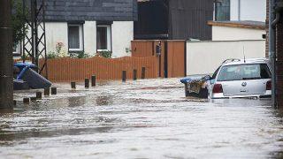Германия под водой: ливни и наводнения (информация обновляется — на 20:00)