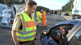 Полиция оштрафовала водителей за любопытство