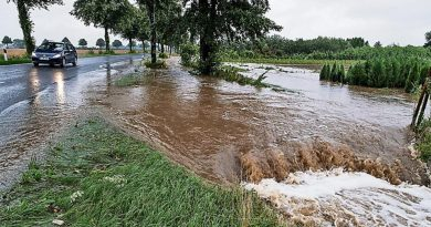 Германии грозят сильные наводнения