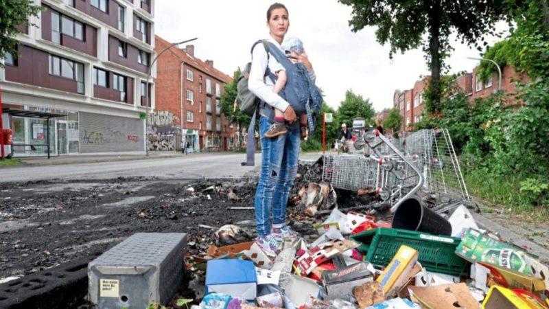 Общество: Беспорядки в Гамбурге: кто возместит убытки?