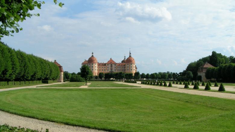 Галерея: Достопримечательности Германии: замок Морицбург рис 3