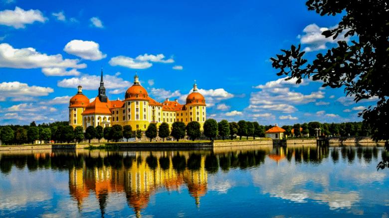 Галерея: Достопримечательности Германии: замок Морицбург