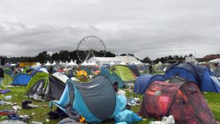 Буря прервала музыкальный фестиваль Баварии: множество пострадавших