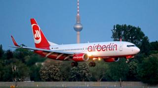 Компанию Air Berlin выставили на продажу на Ebay