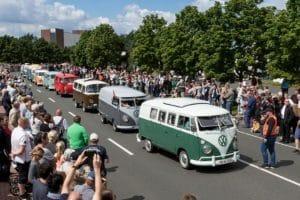 Легенде 70 лет: Bully-парад в Ганновере