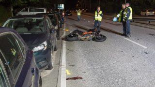 В Гамбурге мотоциклист насмерть сбил пенсионерку