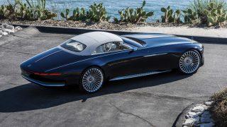Mercedes-Benz показала, как будет выглядеть новый кабриолет Vision Mercedes-Maybach 6