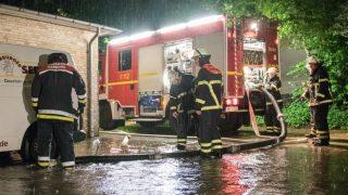 Северная Германия пострадала от сильных ливней