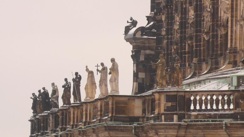 Достопримечательности Германии: Дворцовая церковь в Дрездене